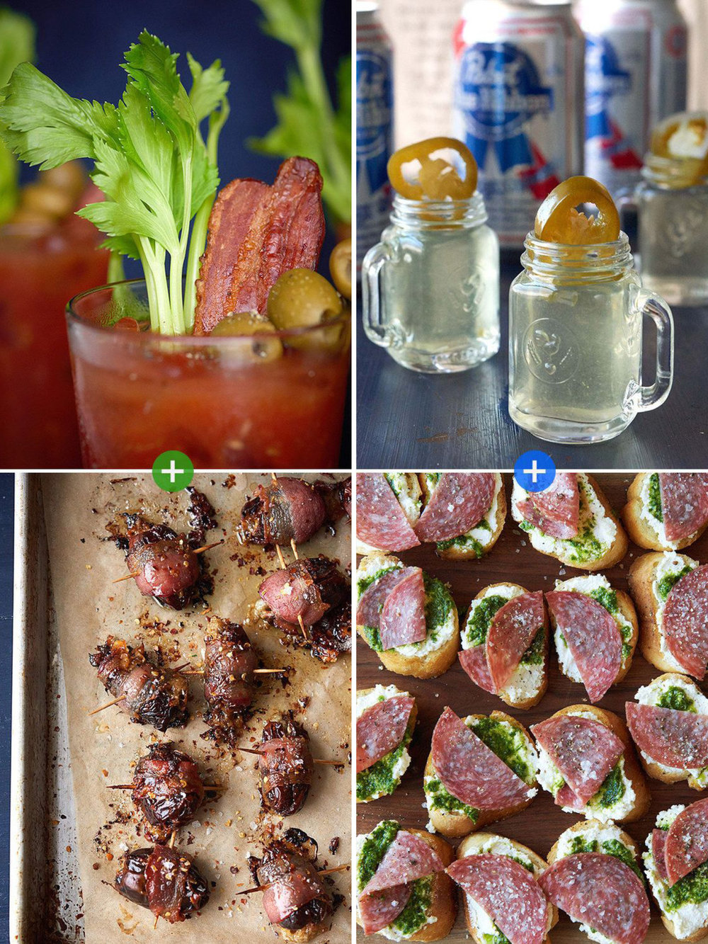 26 Delicious Things To Serve At Your Holiday Party Booze + bites = a magical combo.  Buzzfeed