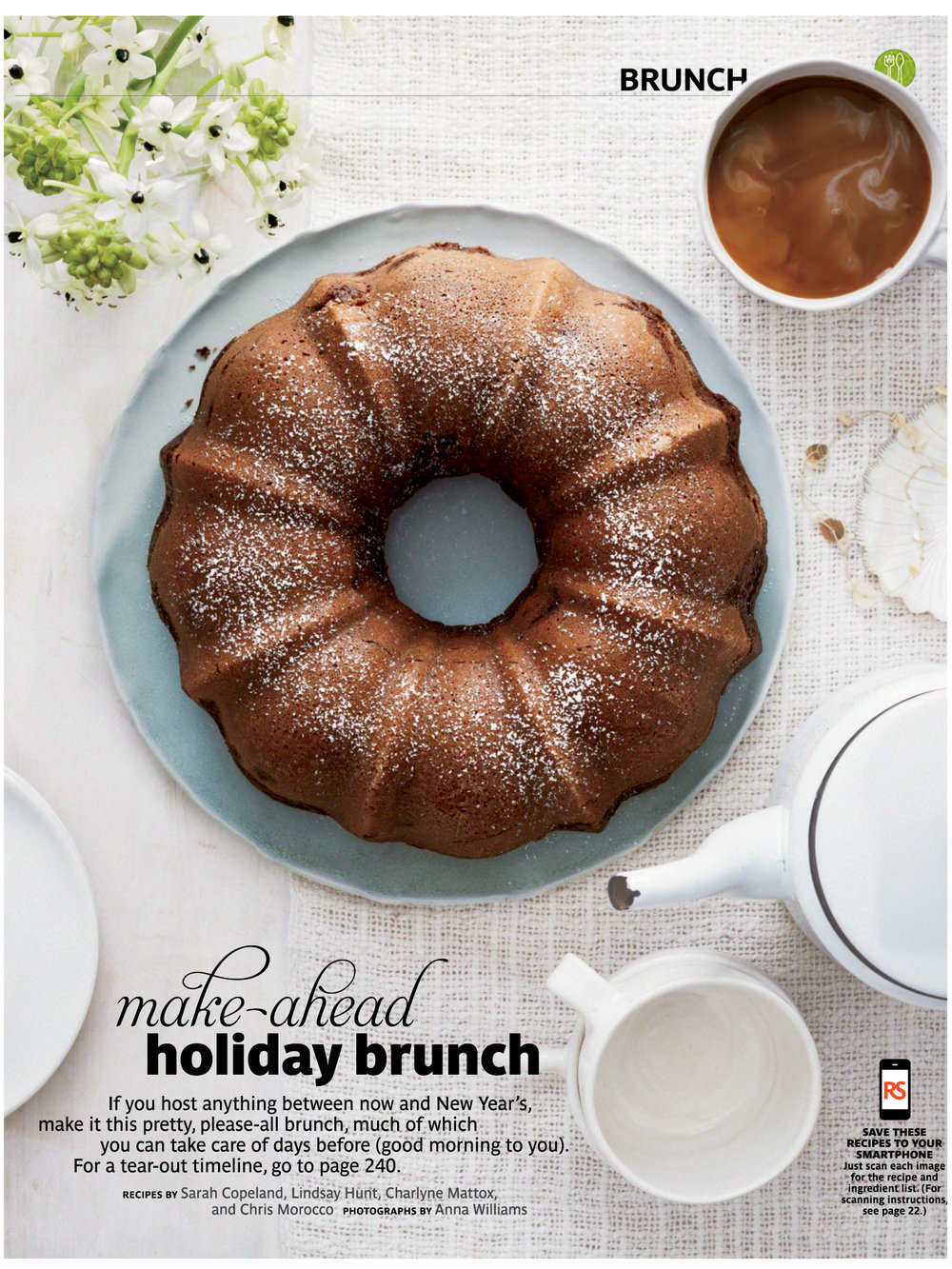 Make-Ahead Holiday Brunch  Real Simple