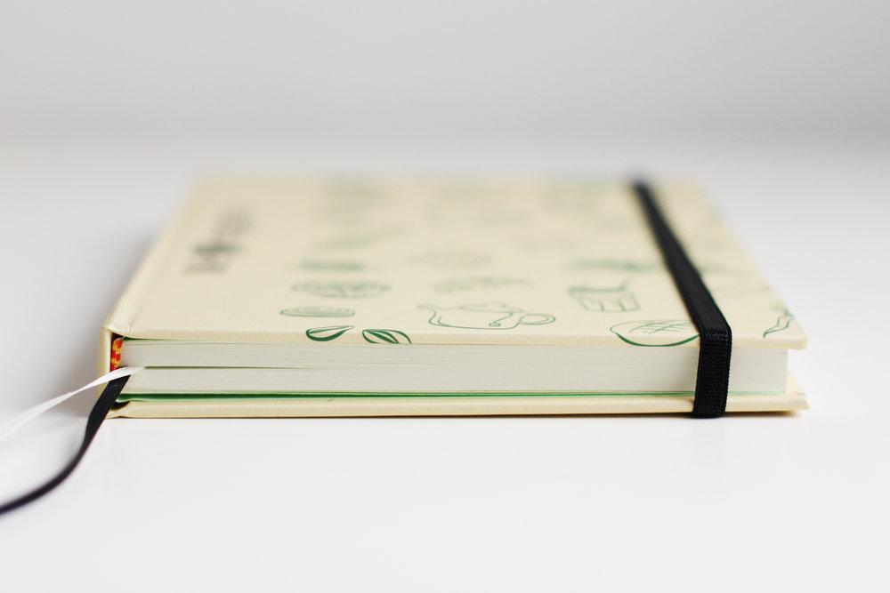 Ilustración y realización de cuadernos artesanales.