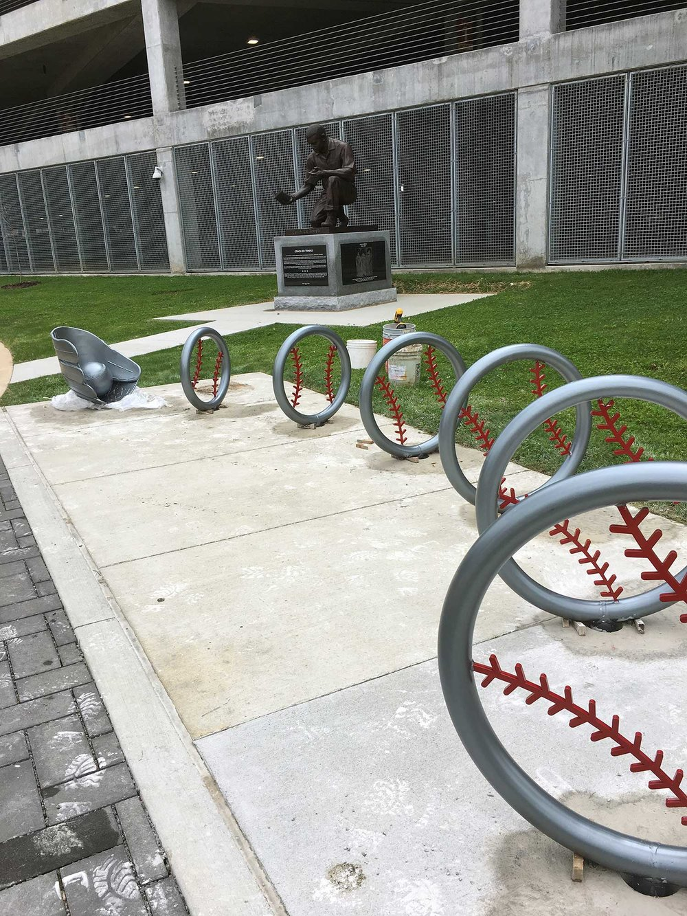 Installation Spring 2017, 5th Avenue, First Tennessee Park