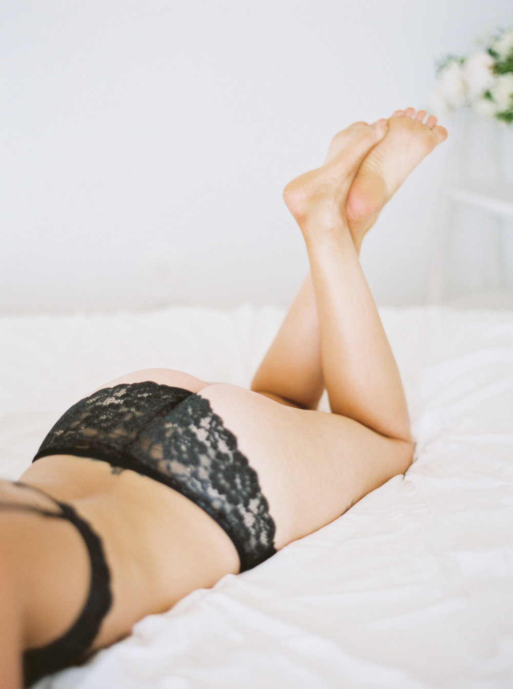 00017- Fine Art Film NSW Dubbo Mudgee Orange Bridal Boudoir Wedding Photographer Sheri McMahon in black lace lingere_.jpg