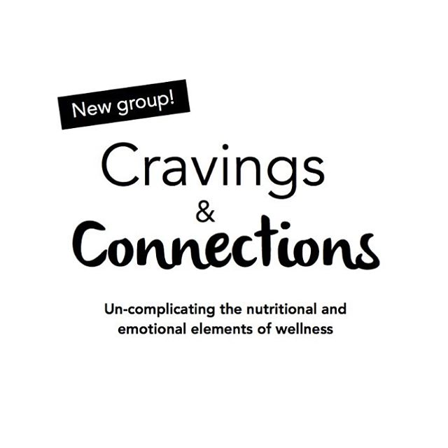 Hoping to make 2018 a healthier, happier year? Good news- we are now accepting new members for January's Cravings & Connections group! This four-week group for women focuses on the emotional components of eating and breaks down complicated nutrition topics. It is led by myself and Rachel Freeman, LCSW, NTC (@thepaleotherapists). More than just a group, Cravings & Connections is a community where profound growth, connection and transformation can occur. . Week 1 | Explore your relationship with food and your body. Examine your self-talk and understand the origin of your inner narrative as it relates to food and emotions. . Week 2 | Connect with your body's cues, discover how blood sugar impacts cravings, and learn how to tap into your body's innate wisdom. . Week 3 | Learn the physiology of digestion and psychology of eating. Understand the mind-body connection and how stress impacts gut health. Week 4 | Create your new narrative and gain actionable steps for a healthier relationship with food and your body. Learn strategies to detoxify all aspects of your life. . The group will be held in north county San Diego on Wednesday evenings, ‪starting on January 17th‬ from 6-7:30 pm, and will continue every week at that time for 4 weeks, ‪ending on February 7th.‬ Space is extremely limited, so secure your spot ASAP by emailing Rachel at SheaNutrition@gmail.com. We are offering a discount for members who sign up before December 17th. . Not in the San Diego area but want to join this group? Great news- we are meeting the demand by creating a virtual group! This will be offered in early 2018, and if you would like to be the first to know about it, please contact us at paleotherapists@gmail.com and we'll be happy to add you to the email list. 😊