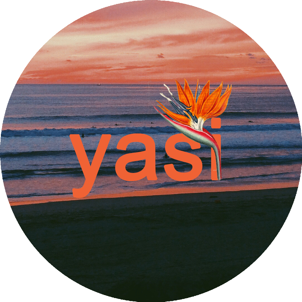 yasi sticker. mixed media. 2018.