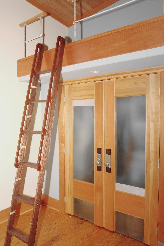 loft, ladder and doors.jpg