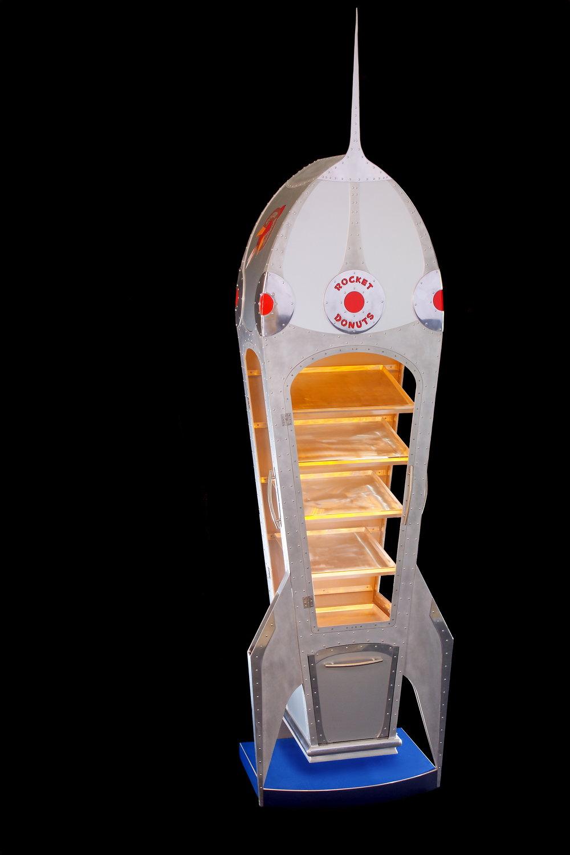 Rocket Donut custom-fabricated metal display case.jpg