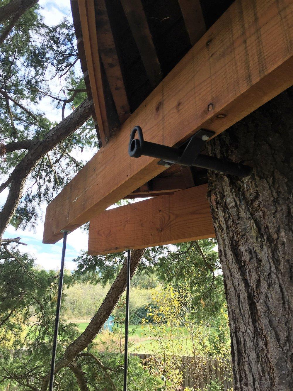 tree fort metalwork deck support detail.JPG