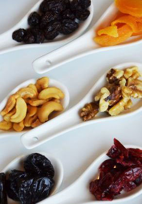 Cheese, Fruit and Nuts Snack Platter