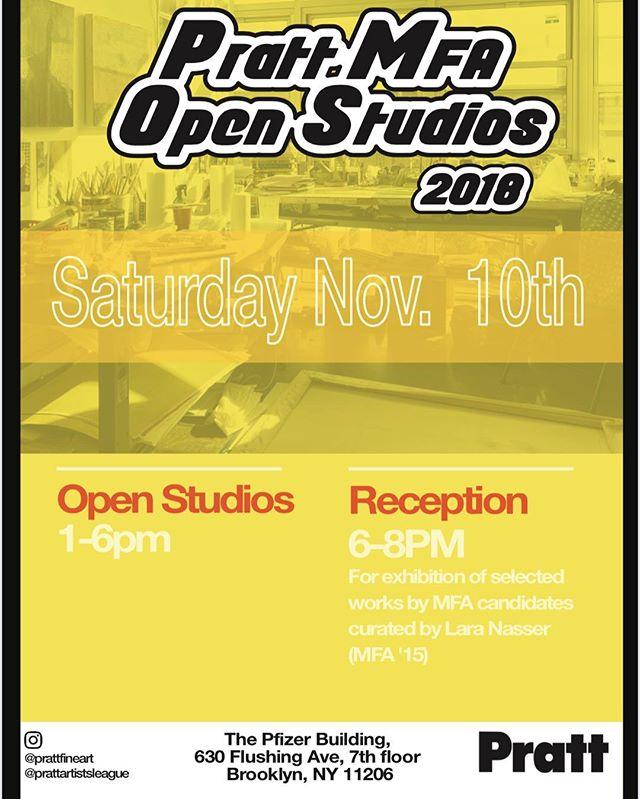 Come check out Pratt MFA open studio today 1 - 6 . My studio #37  We are located on the 7th floor. Pfizer building. 630 flushing ave Brooklyn, NY #openstudio#hyperallergic #brooklynrail #prattmfa#mfapratt#pratt#abstract#critic#color#painting#drawing#gallery #yalemfa #contemporaryart #conceptual #