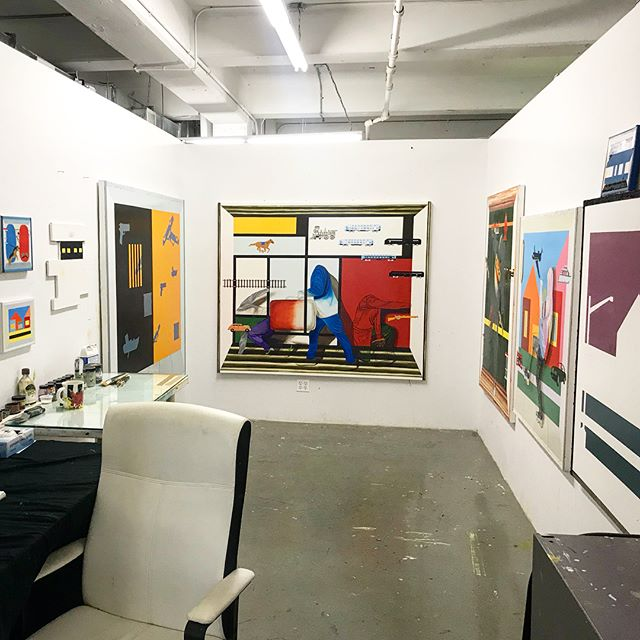 My 3rd semester of graduate school is over! Next semester is my last semester at Pratt Institute. I'm ready to start a new chapter. I hope you enjoy my transition! Thesis show here we come.  #peterhalley #pietmondrian #oilpainter#mfa#prattinstitute #prattmfa#paint#drawing#sketch#blacklivesmatter #contamporaryart #blackexcellence #trompeloeil #graduatestudent #color