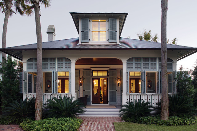 Example of coastal architecture.  Credit: Historical Concepts Architecture.