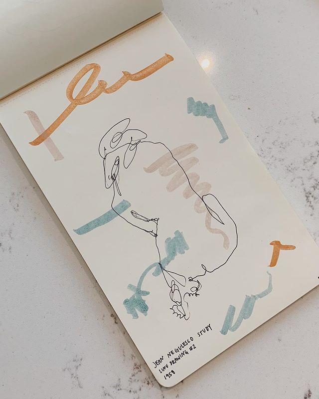 figure study of negulesco's line drawing + my current favorite color palette . . . . . #utahartist #instaart #artistsofinstagram #peoplescreative #contemporaryart #artcollective #emergingartist #utahart #showyourwork #modernart #artcollective #abstractexpressionism #figurestudy #featuredartist #carveouttimeforart #happyartistmovement #rawartists #abstractobsession #artisttowatch #makersmovement #calledtobecreative #herestothecreatives #slcartist #creativesontherise #moleskine_arts #creativesofinstagram #shapestudy #colorstudy #artstudio #artistontherise