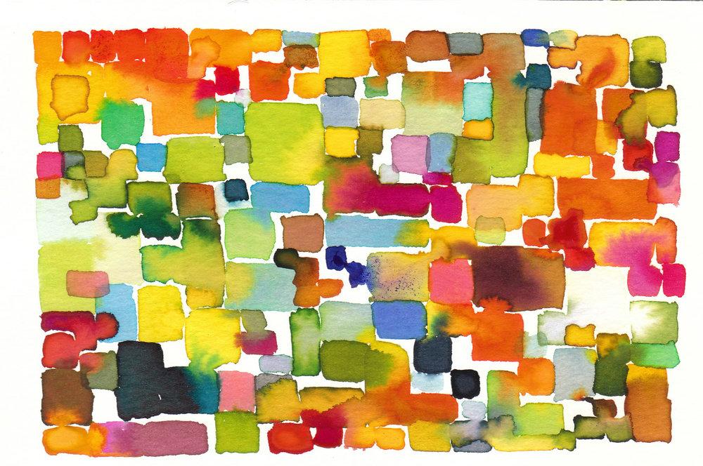 "2012. Postcard Art. 4 x 6"""