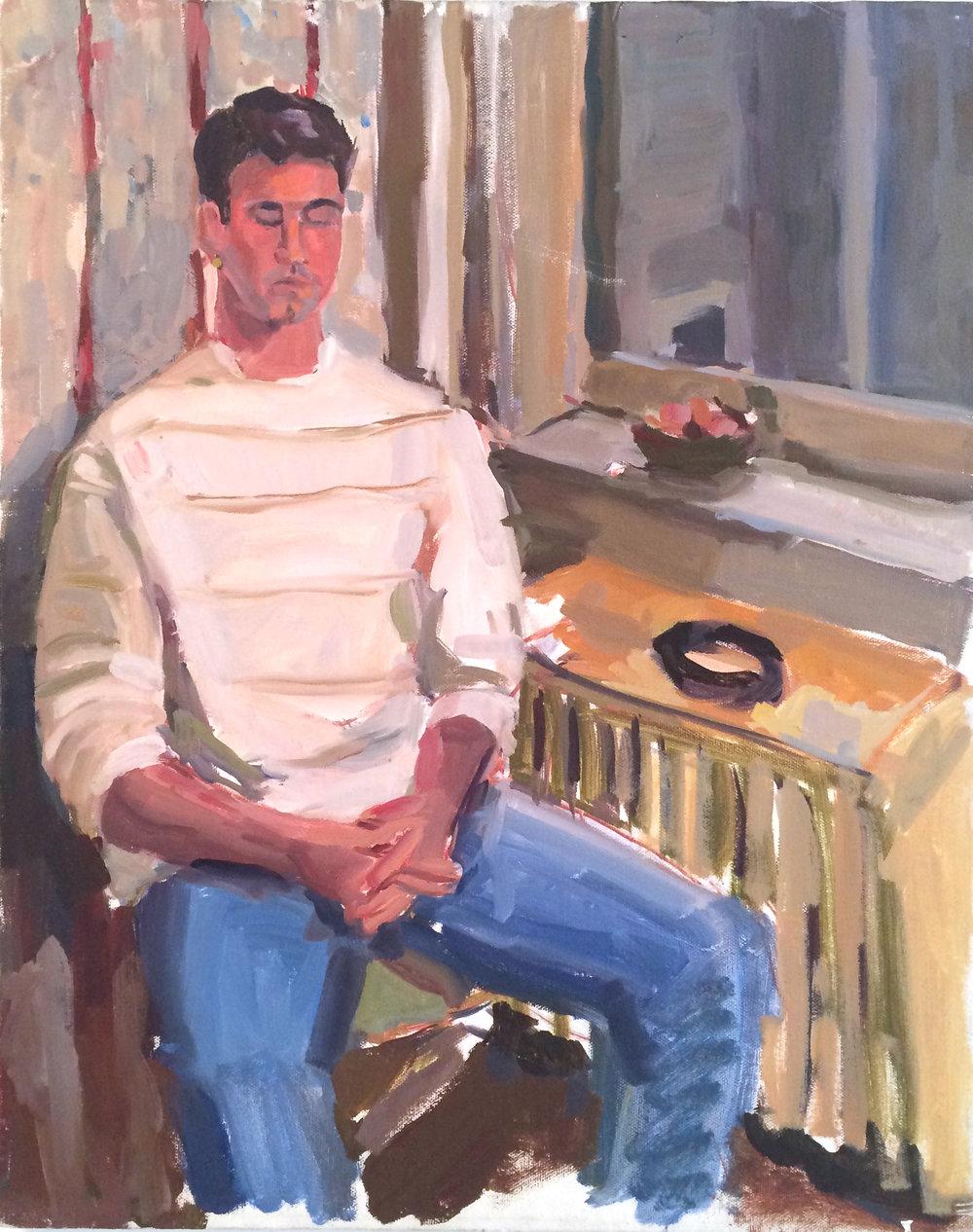 1991. Michael Graziano at 1953 Locust Street, Philadelphia