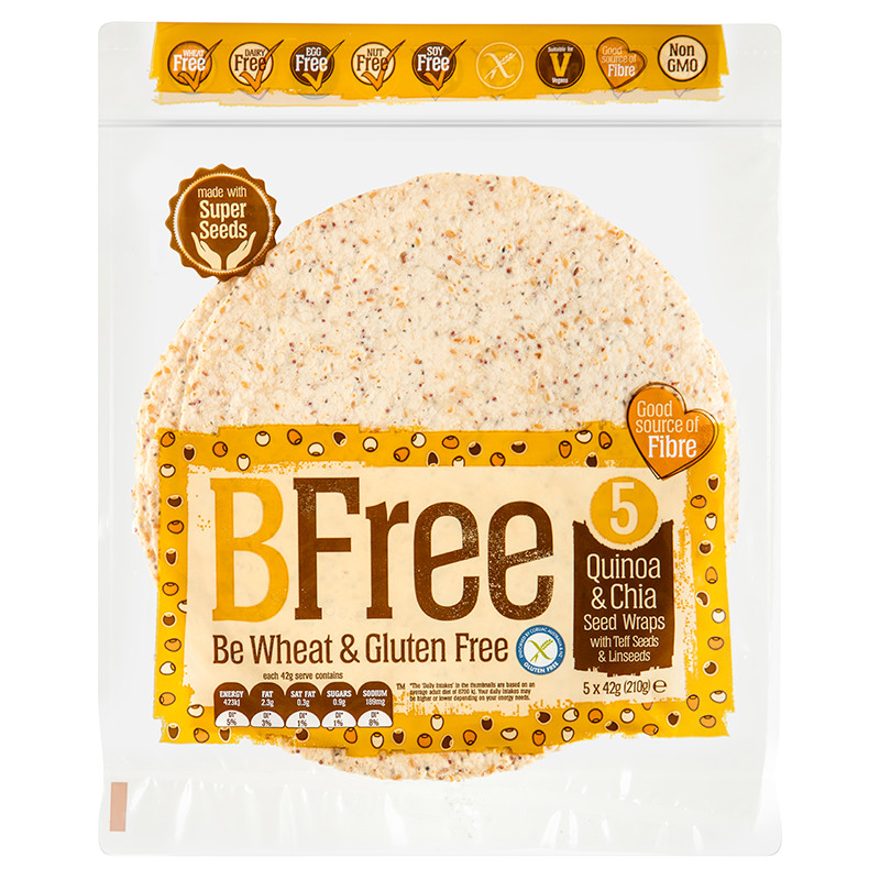 BFree Quinoa & Chia Seed Wrap