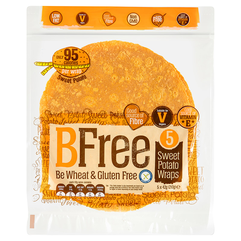 BFree Sweet Potato Wrap