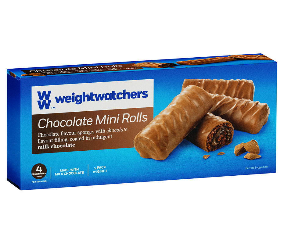 Chocolate Mini Rolls