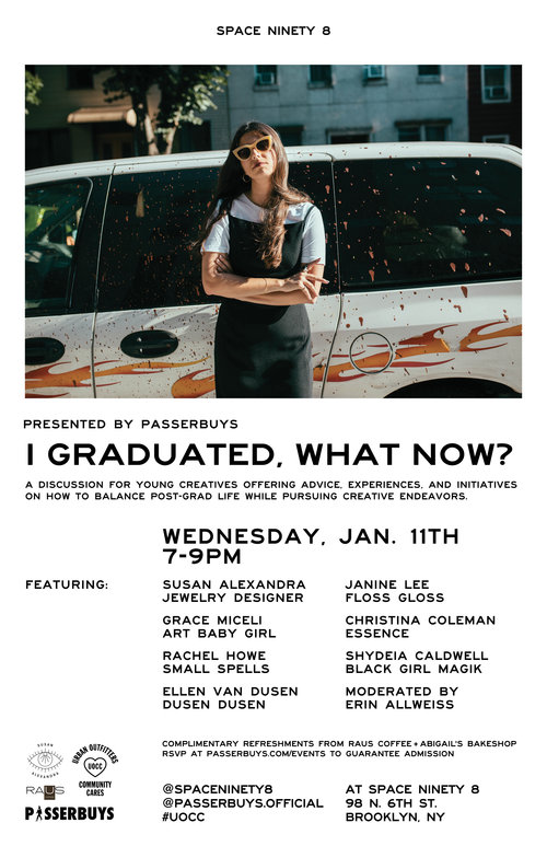 Urban Outfitters Flyer for I Graduated, What Now