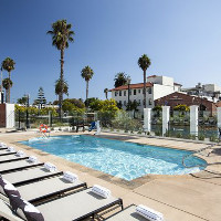 """The Wayfarer   12 E. Montecito St. Santa Barbara, CA 93101   Receive up to 20% off the Best Available Rate!Call (805)-845-1000 and ask for the UCSB Rate. Book online using Corporate/Promo Code """"UCSB ALUMNI""""."""