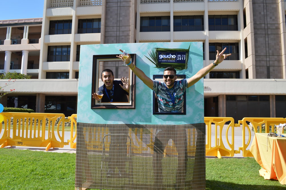 Taste of UCSB Photo Booth