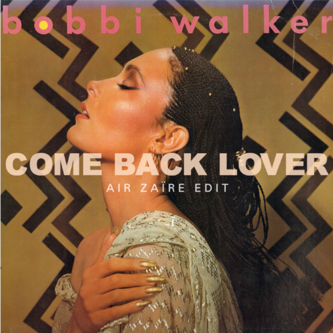 """Originally recorded in Los Angeles, """"Come Back Lover, Come Back"""" appeared on Bobbi Walker's second (and final) eponymous album.  Now, inspired by his recent travels, LA-based DJ/producer Air Zaïre (Adam Santucci) takes us on a journey back to 1982, bringing the soul classic back to life just in time for Summer 2017"""