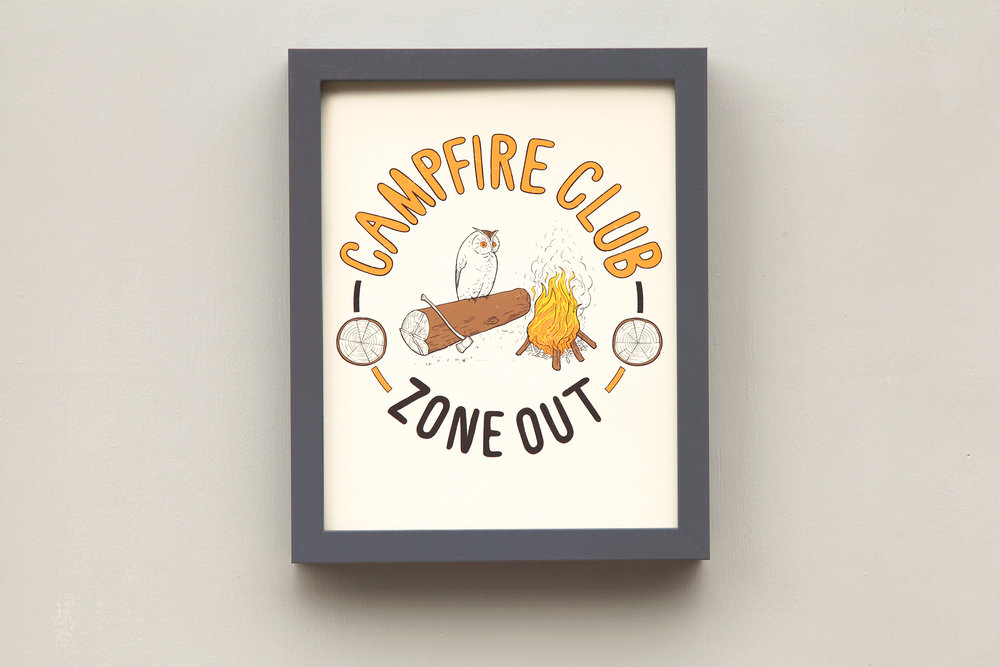 Campfire Club. Purchase at  Scout & Whistle.