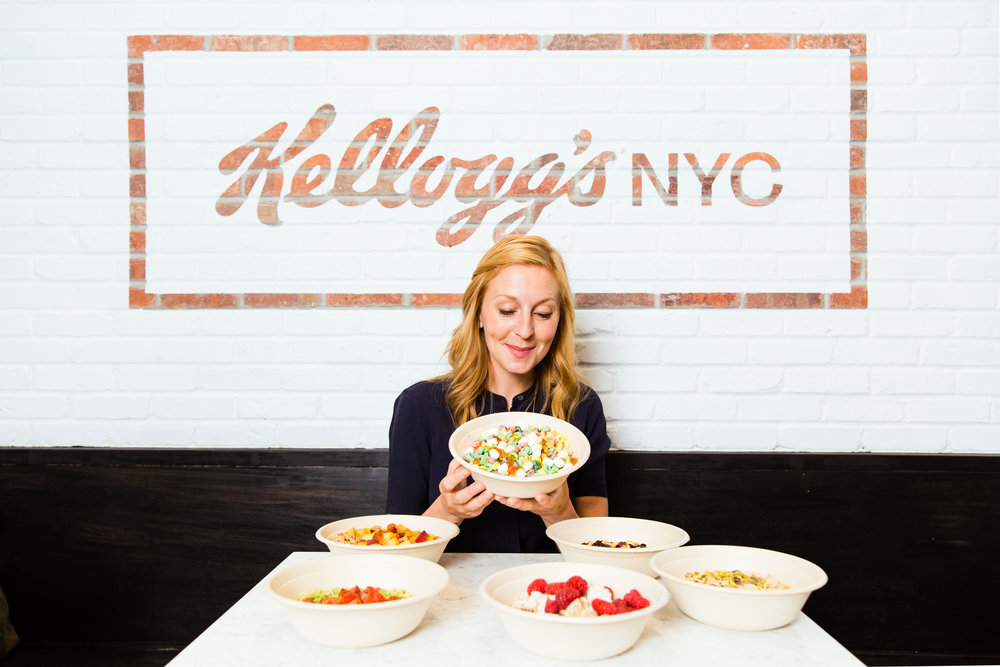 Christina Tosi  Inside Kellogg's New Cereal-Themed in Times Square for Thrillist.com   New York, NY