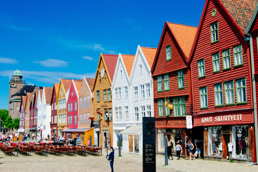 04. The world renown Unesco Heritage Bryygen is in the city center of Bergen