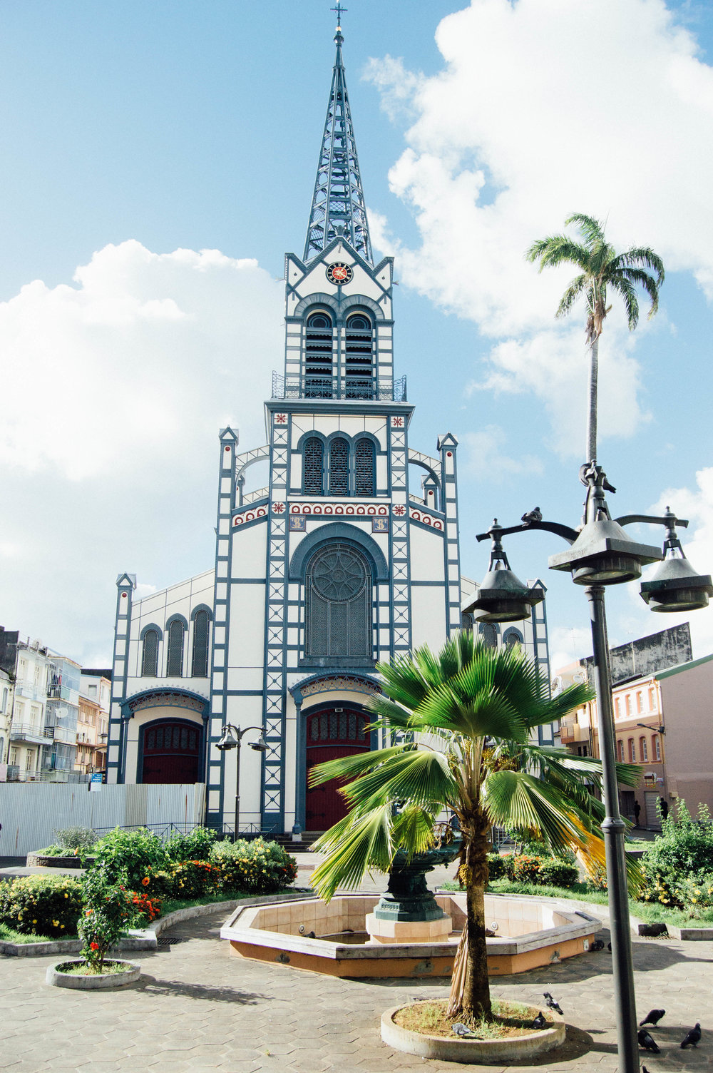 Cathedral in Fort-de-France