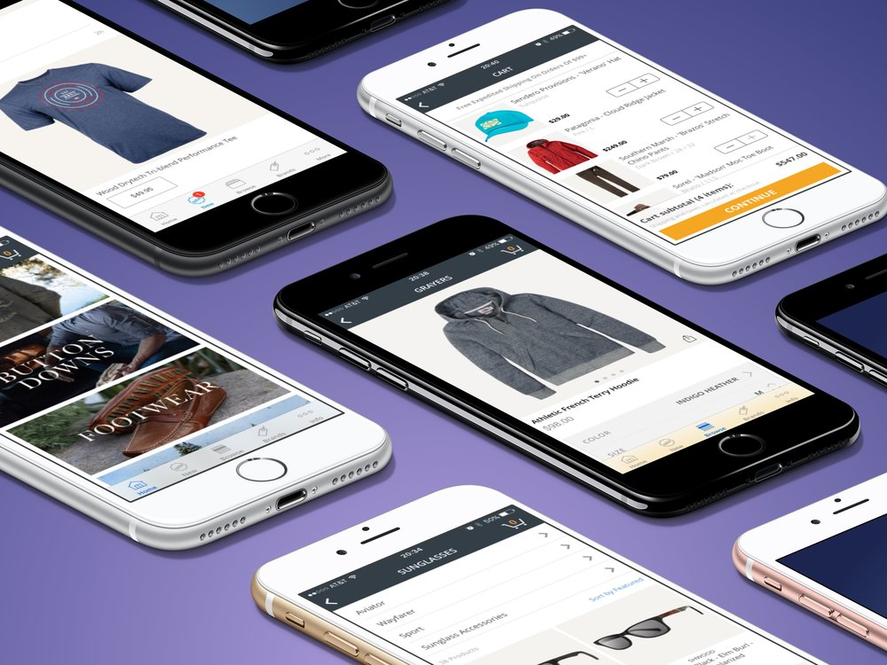 Man Outfitters for iOS (2016)