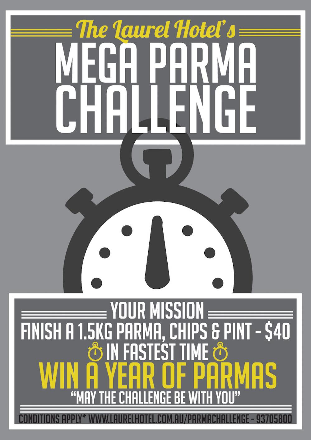 Mega Parma Challenge Poster(1)