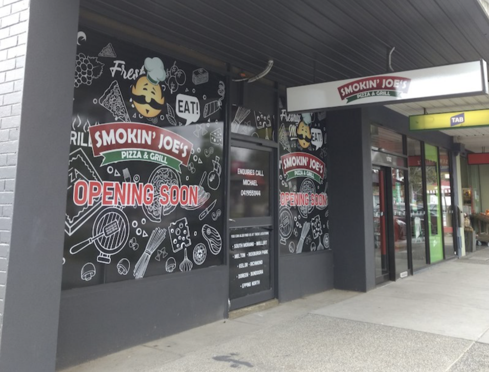 "I could only find this ""opening soon"" image of the exterior"