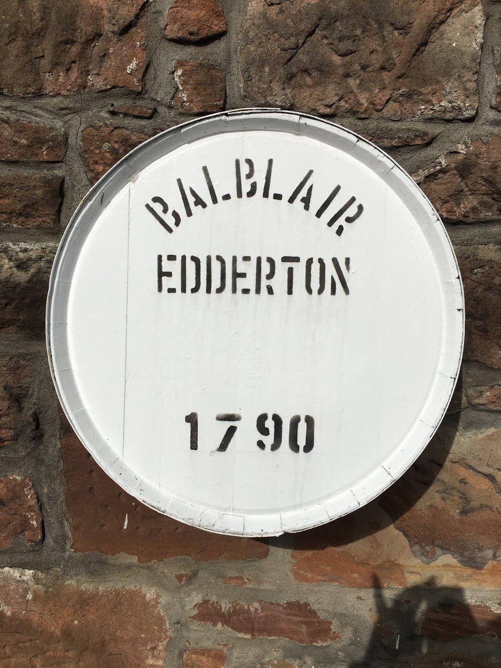 Balblair Distillery 2017