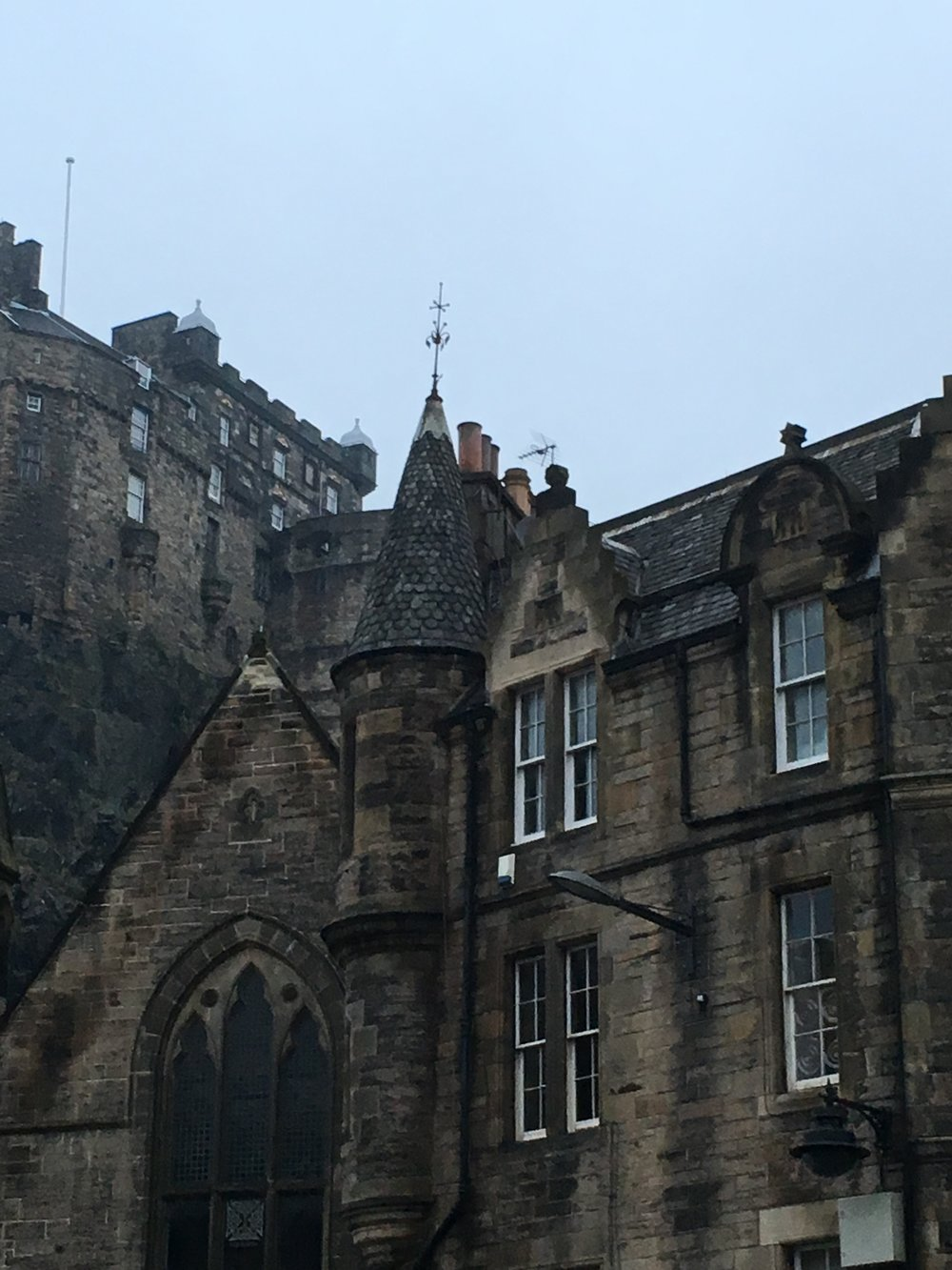 Edinburgh Castle from the Royal Mile 2016
