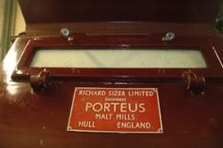PORTEUS MALT MILL FOUND IN MANY DISTILLERIES (JSW 2016)