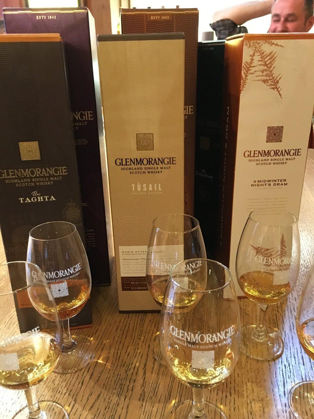 Glenmorangie Tasting