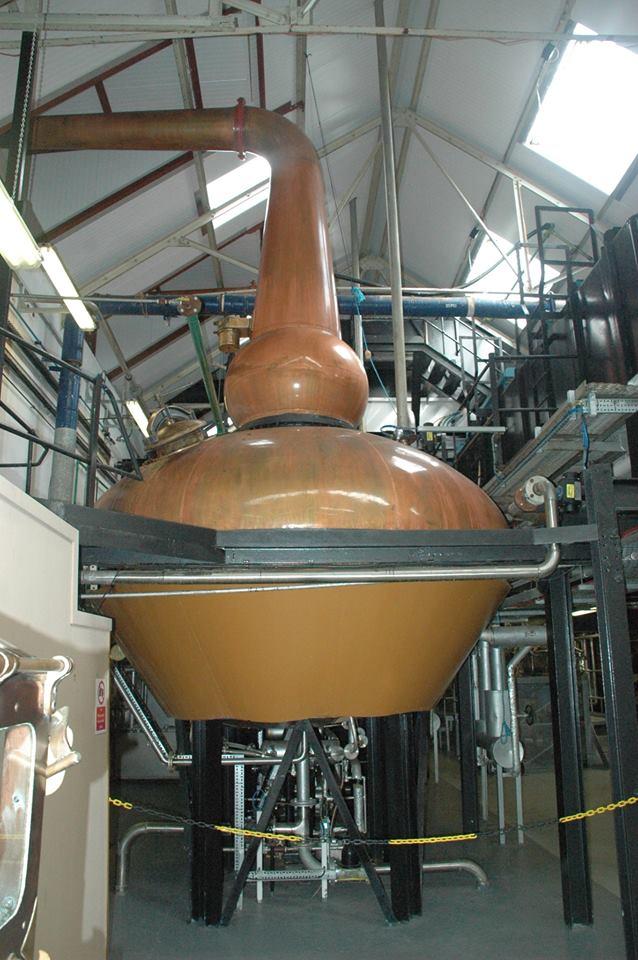 Still room at Tomatin Distillery