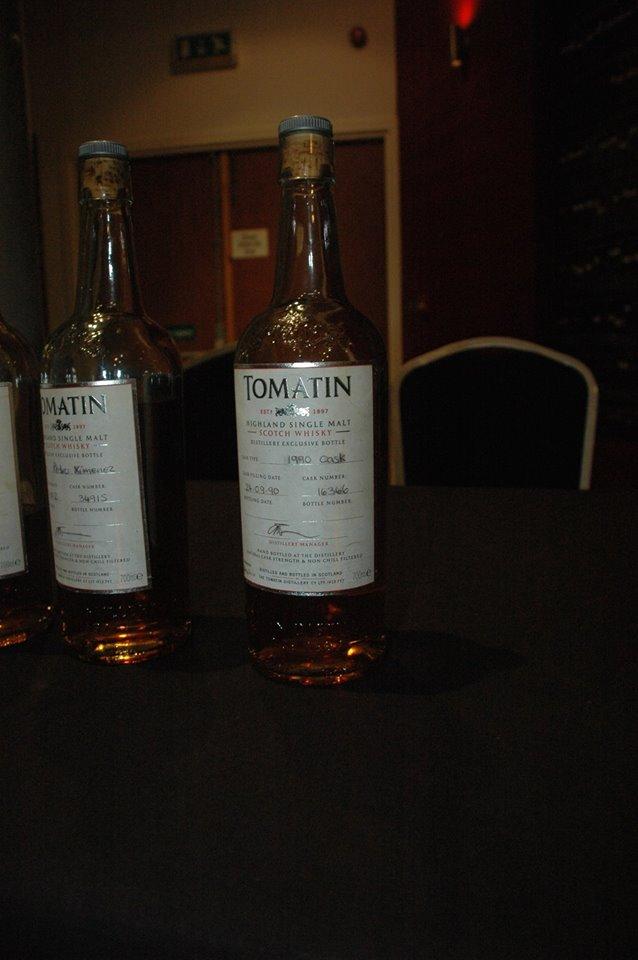 Tasting at Tomatin Distillery
