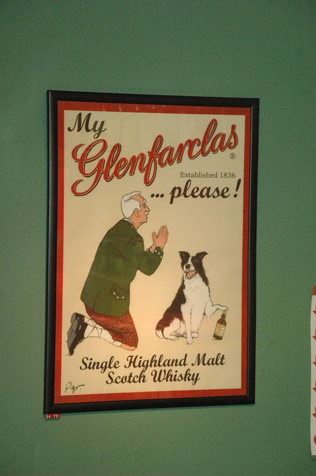 Glenfarclas single malt advertisement