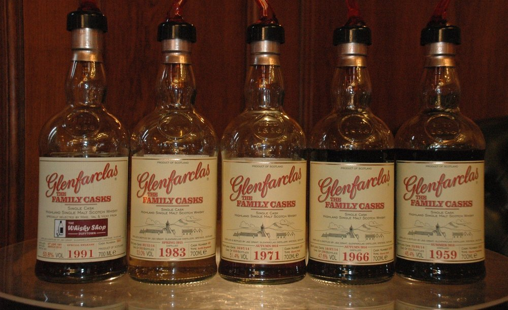 The Glenfarclas Ten Decades Tasting