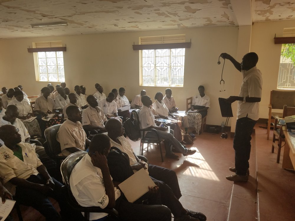 Laro Two Training, January 2018 (Pader, Uganda)