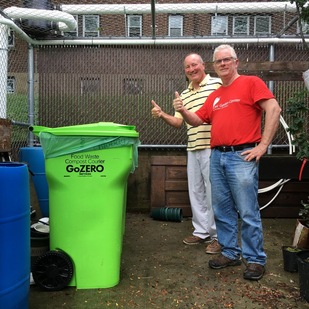 civic garden center of cincinnati food waste composting.JPG
