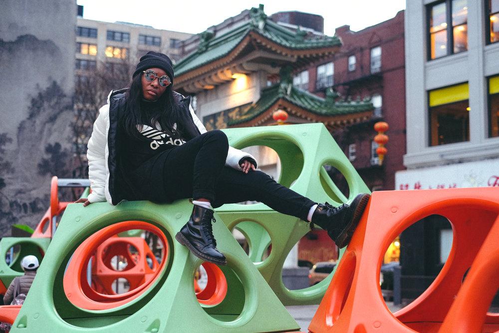 Street Style ft. Saad - Chinatown, Boston