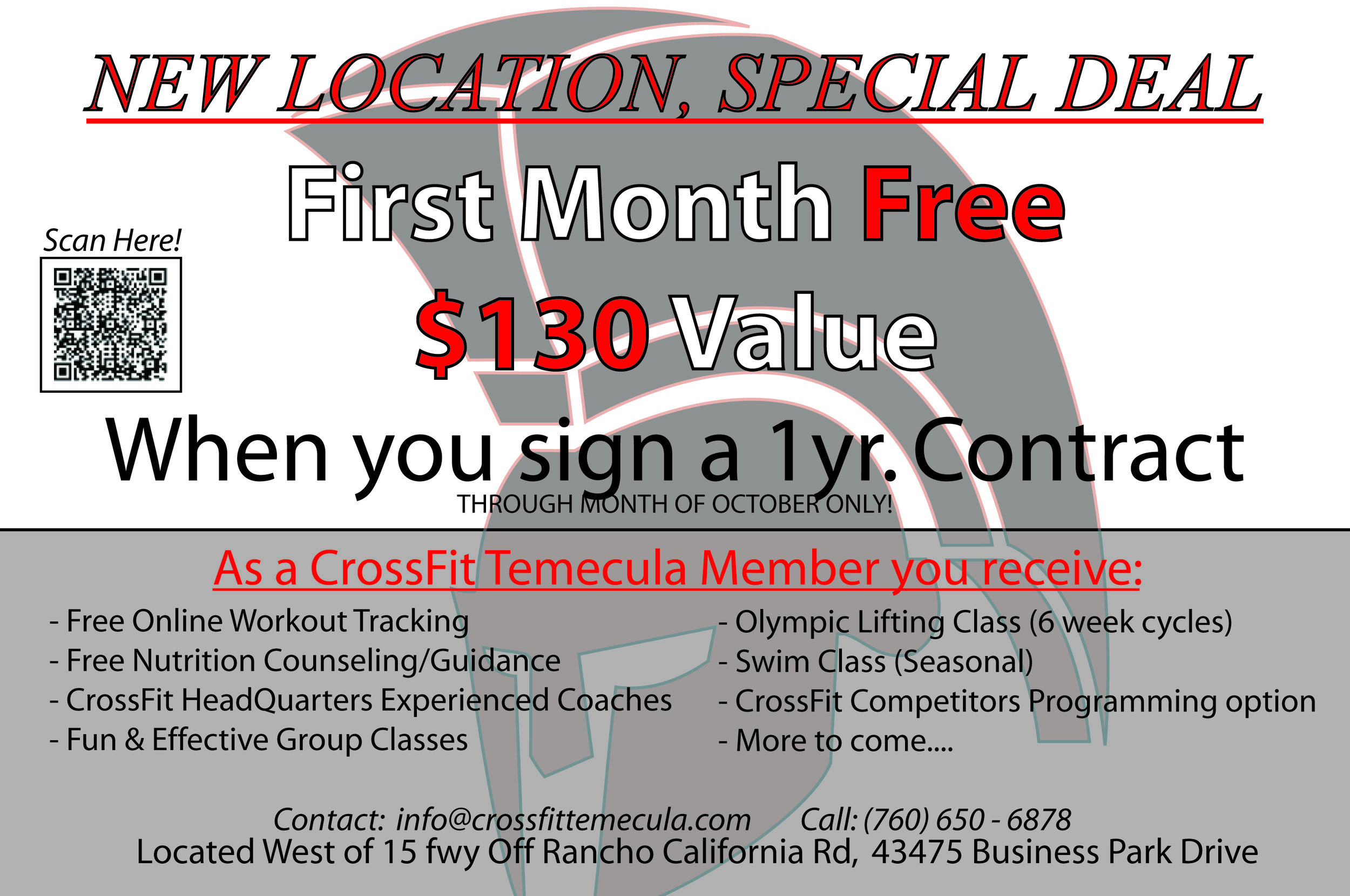 9/25/2014 -WE ARE MOVING!!! — CrossFit Temecula