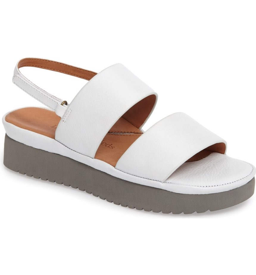 L'AMOUR DES PIEDS Abruzzo Slingback Platform Wedge Sandal. Available in multiple colors. Nordstrom. $198.