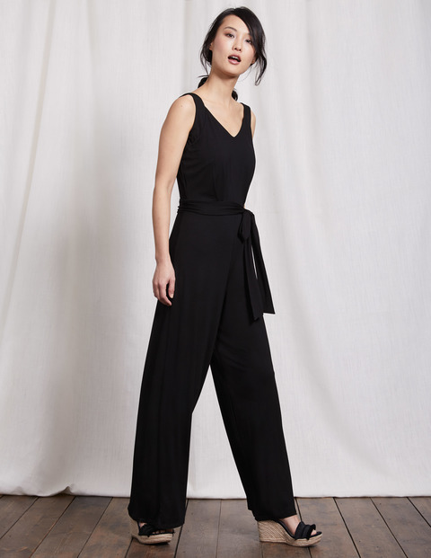 ASHLEY JERSEY JUMPSUIT. Available in two colors, prints. Boden. $140.