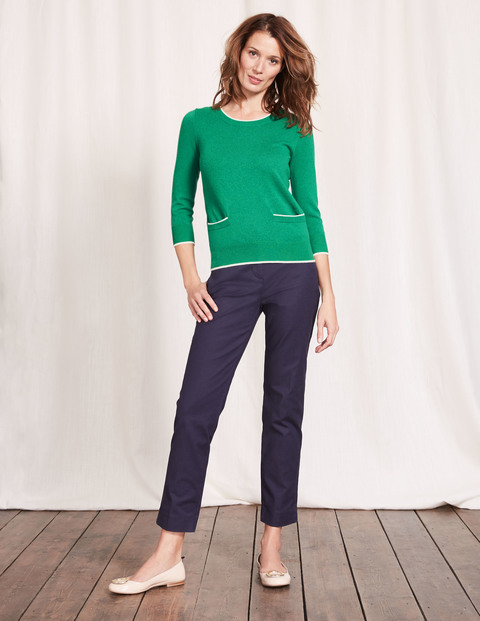 CARA TRIM DETAIL SWEATER. Available in two colors. Boden. Was: $120. Now: $60.
