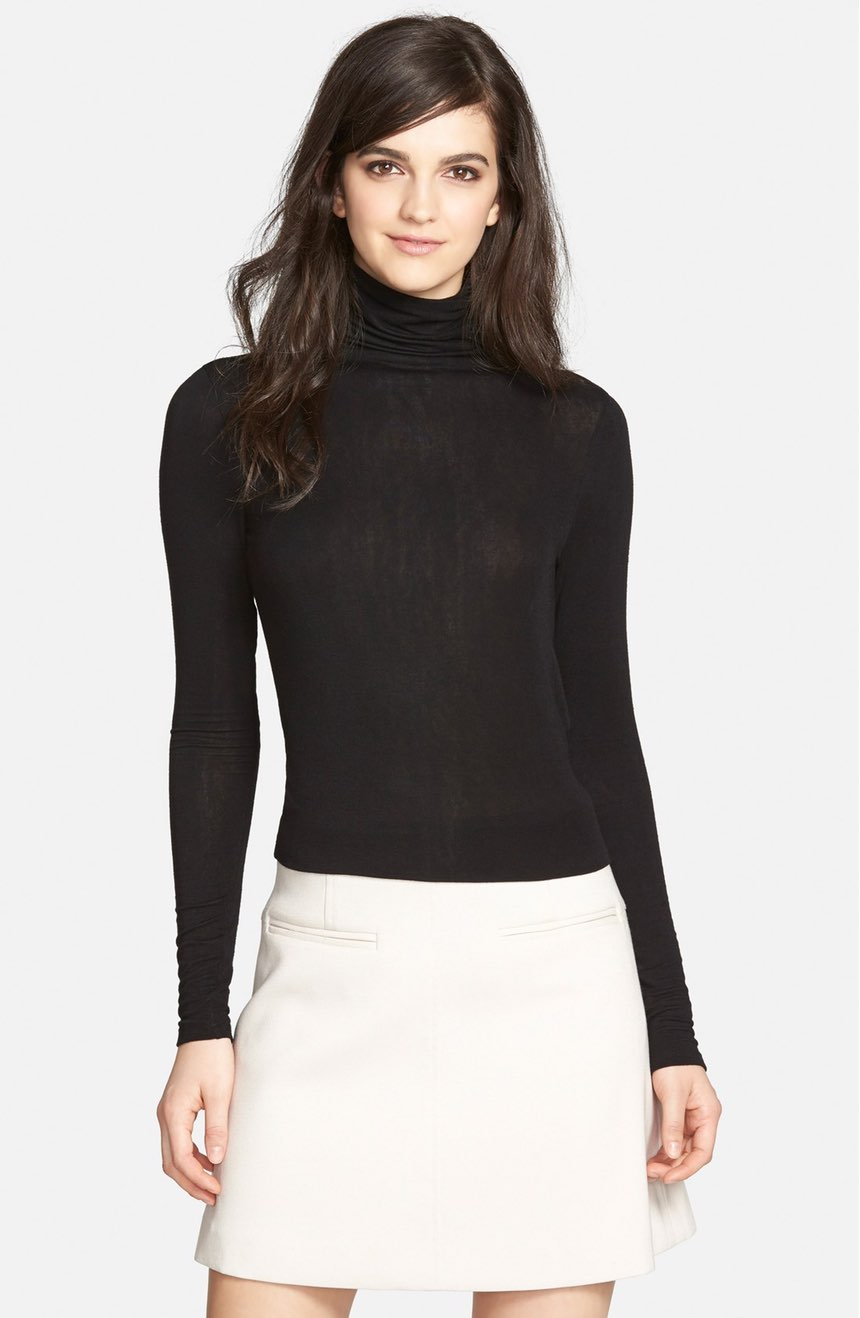 Chelsea28 Layering Turtleneck. Available in three colors. Nordstrom. Was: $49. Now: $29.