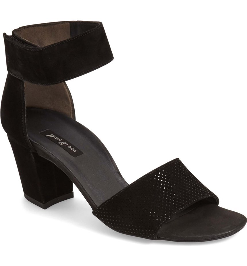 Paul Green 'Wells' Ankle Strap Sandal. Available in two colors. Nordstrom. $289.