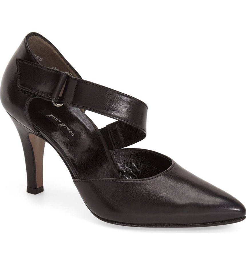 Paul Green 'Desire' Pointy Toe d'Orsay Pump. Available in two colors. Nordstrom. $299.