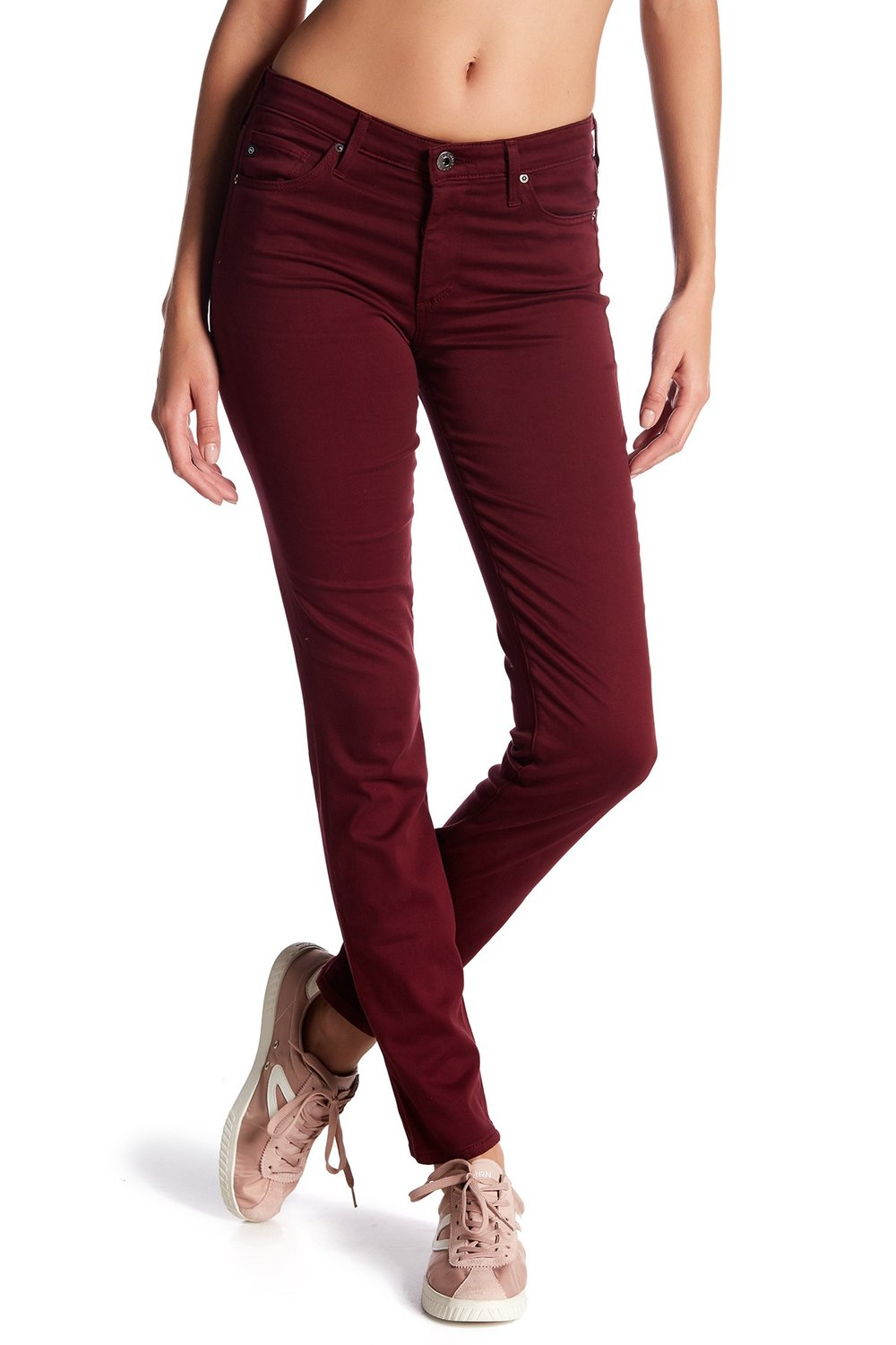 AG Prima Mid-Rise Cigarette Jeans. Nordstrom Rack. Was: $178. Now: $89.
